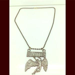 Led Zeppelin HTF necklace 😍